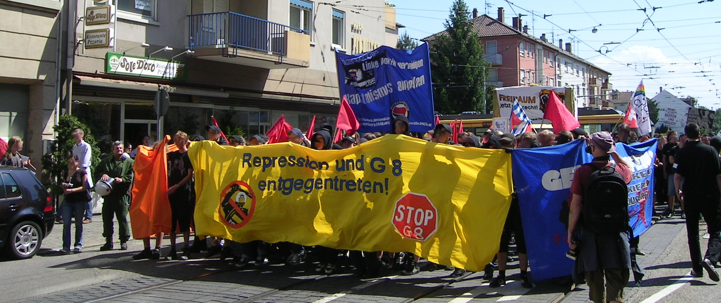 demonstration 19.5.2007 in karlsruhe