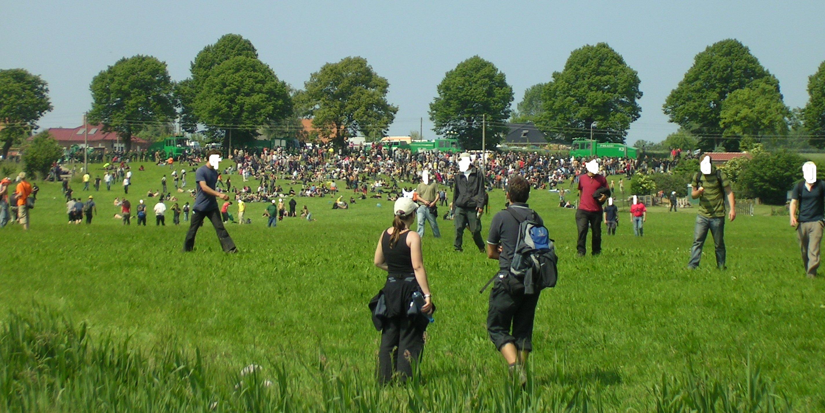 blockade westtor heiligendamm 7.6.2007